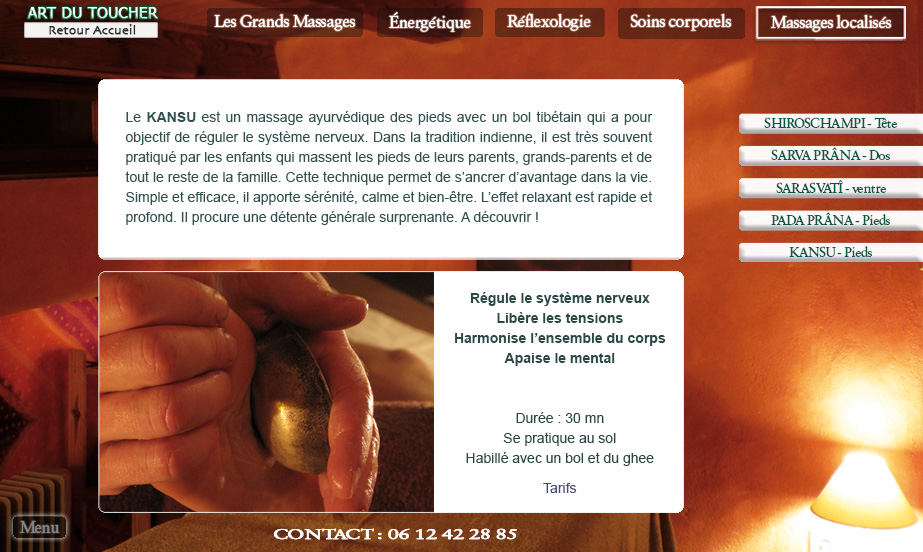 massage ayurvédique sensuel Montpellier